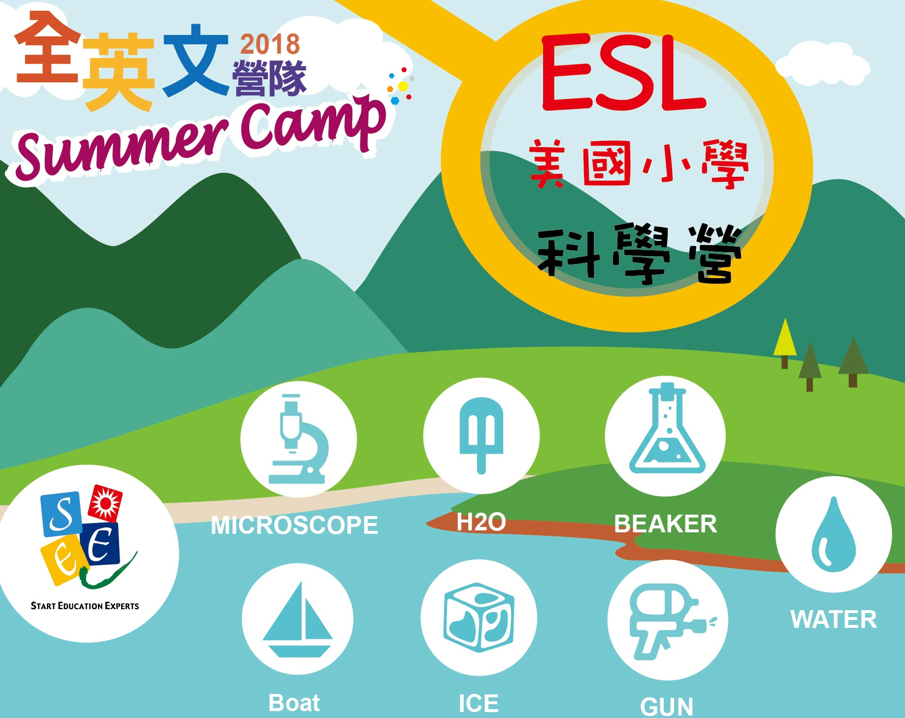 2018 夏令營 ESL