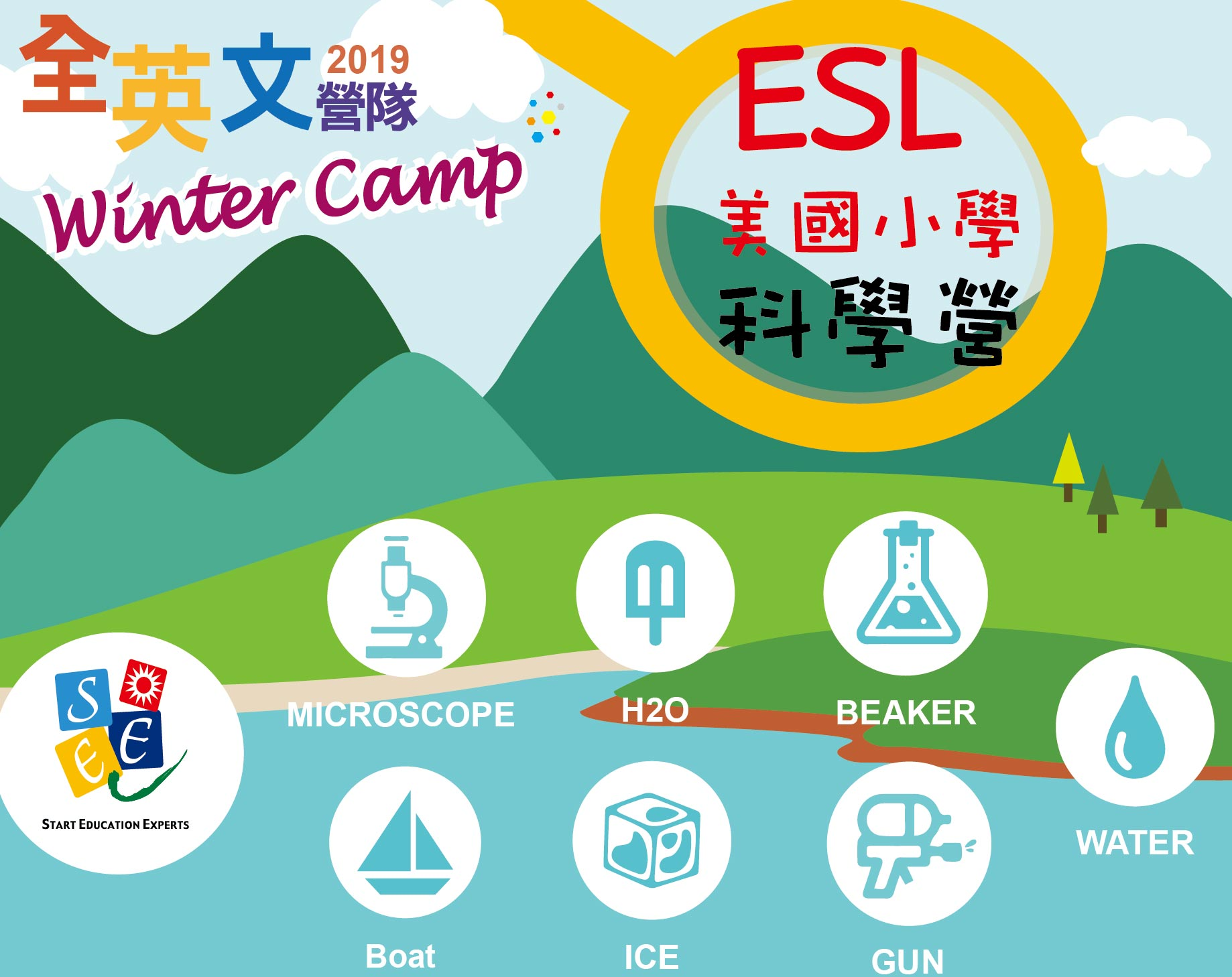 2019 ESL 美國小學科學營